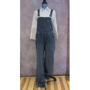 NEW Old Navy Blue Denim Bib Overalls Bibs Size M